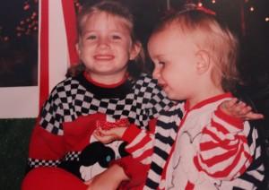 Cailin & Erin sharing