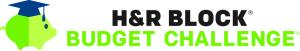 HRB Budget Challenge Logo Horizontal w No Box