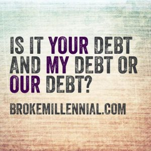 Our Debt